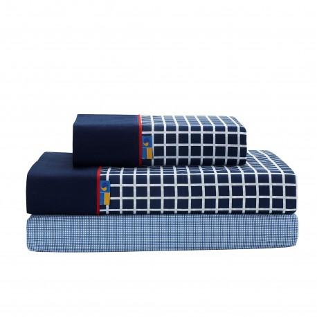Juego de sábanas estampadas SHIRT