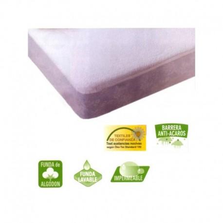 Protector Colchón Rizo + PVC